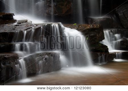 Kbal Chhay Waterfalls in Cambodia