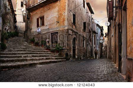 Alte italienische Dorf