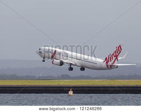 Boeing 737-8Fe (w) Virgin Australia