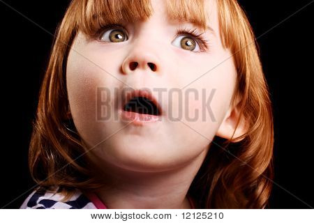 Shocked Little Girl