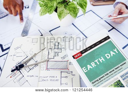 Earth Day Annual Ecology Environmental Protection Concept