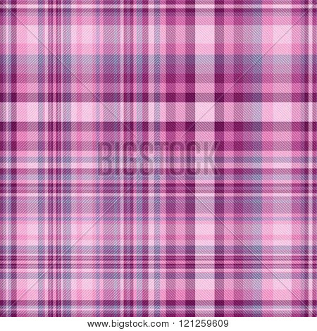 Seamless Colorful Checkered Pattern
