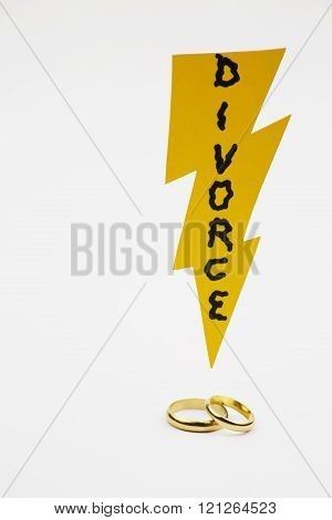 Divorce brack ring