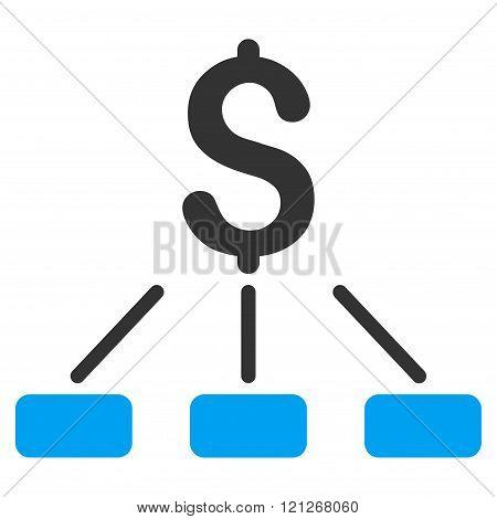Financial Hierarchy Flat Vector Icon