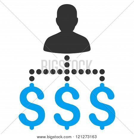User Payments Flat Vector Icon