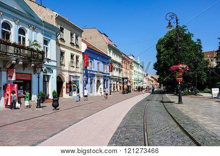 Main Street In Kosice