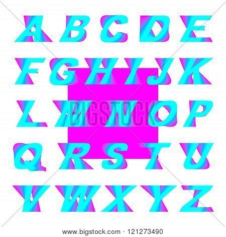 Swirl 3D font