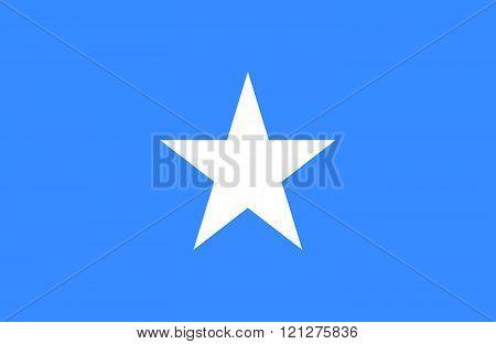 Somalian Flag.