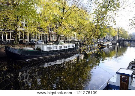 Amsterdam Buildings And Boats