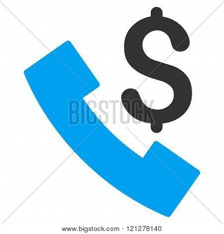 Payphone Flat Glyph Icon