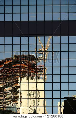 Abstract Reflection Crane
