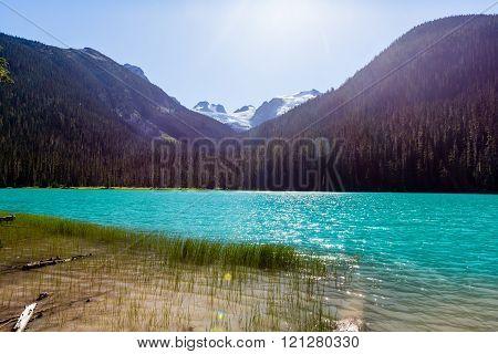 Lower Joffre Lake, Joffre Lake Provincial Park, Bc, Canada