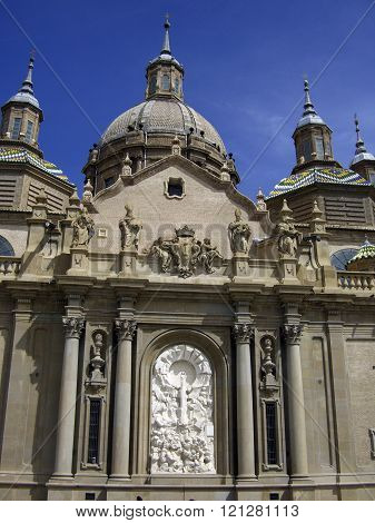 Basilica Of Our Lady Of The Plilar Zaragoza Spain