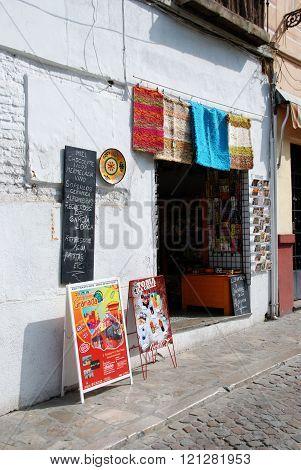 Tourist gift shop, Granada.