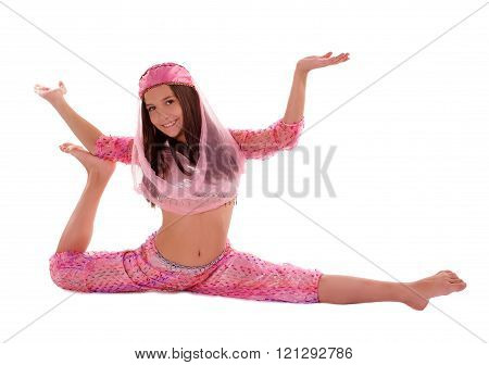 Girl In Oriental Costume