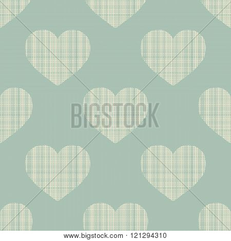 Geometric Ornament Seamless heart