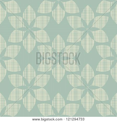 Geometric Ornament Seamless  flower