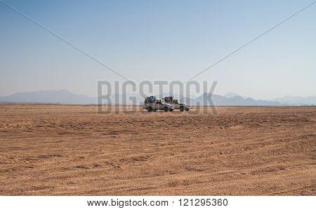 Trip On The Desert Near Hurghada