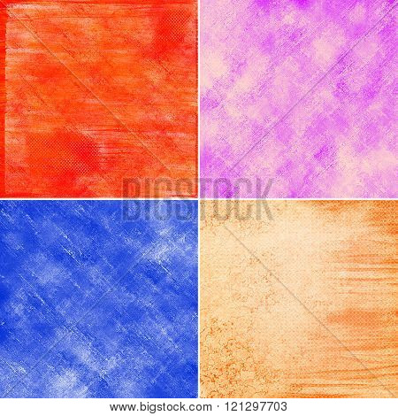 Abstract Colorful Grunge Backgrounds