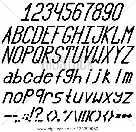 Chopped Bold / Italic Font