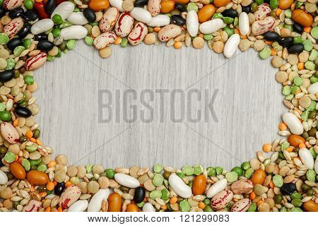 Mixed Legumes And Cereals