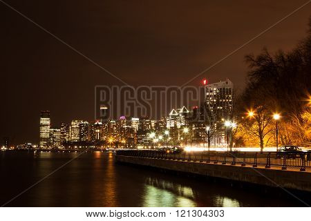 Hoboken Jersey City Skyline