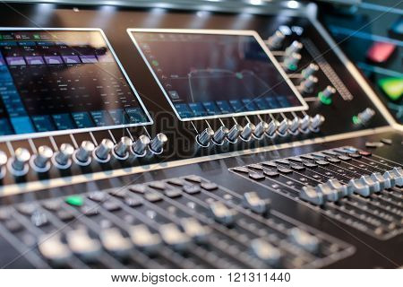 Screens Of The Stage Controller With Switchers