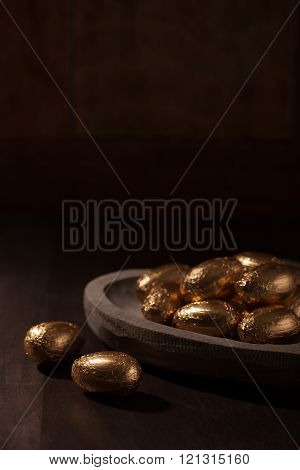Luxury chocolate mini eggs
