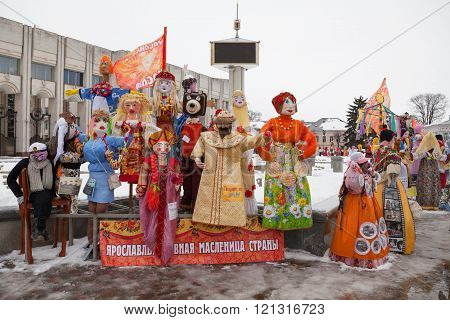 Pancake week in Russia