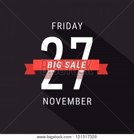 Black Friday 27 November Sale advert banner