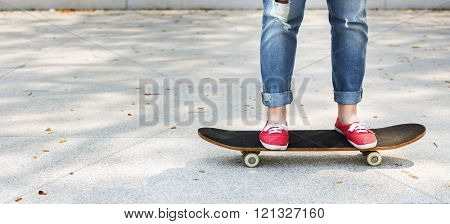 Balance Board Exercise Movement Skateboard Concept