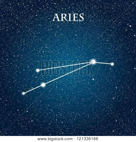 Vector astrological sign of the Zodiac. EPS 10.