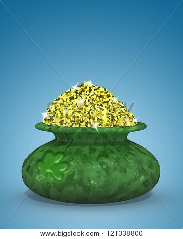 cauldron of St Patrick