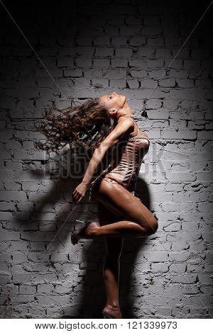 Sexy beautiful dancer