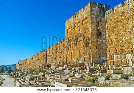 The Golden Gate Of Jerusalem