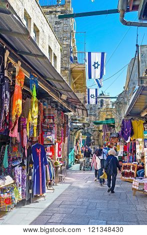 The Markets Of Jerusalem