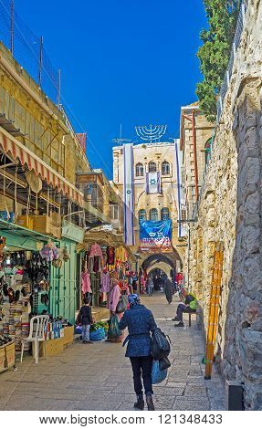The Way To Damascus Gate