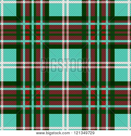 Seamless Checkered Contrast Pattern