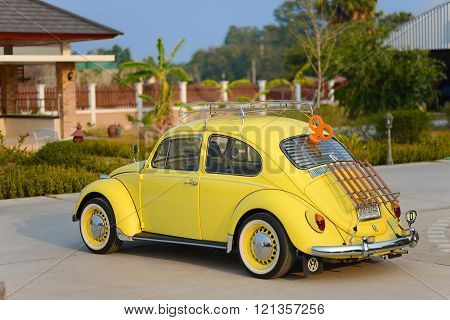 Fully Restored Volkswagen Beetle Model Year 1969