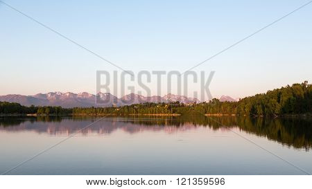Evening at Westchester Lagoon