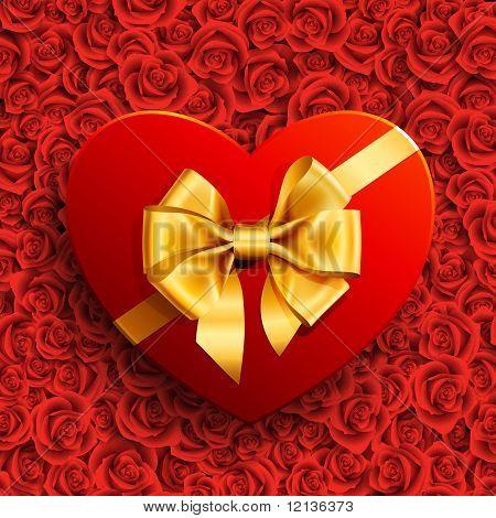 Herz-Form-Geschenk