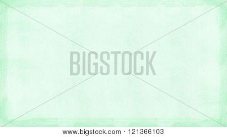 Mint Green Grunge Retro Border Textured Background Powerpoint Widescreen