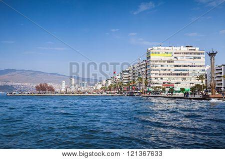 Coastal Cityscape With Modern Buildings, Izmir