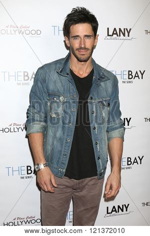 LOS ANGELES - MAR 10:  Brandon Beemer at the 5th Annual LANY Entertainment Mixer at the Saint Felix on March 10, 2016 in Los Angeles, CA