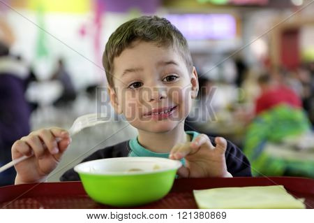 Child Has Pelimeni