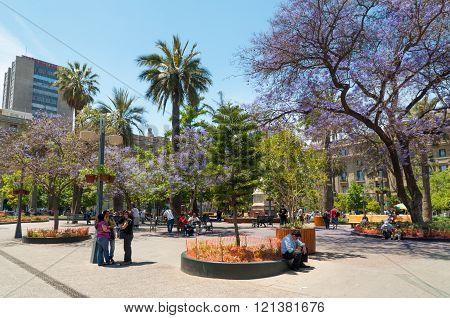 Plaza De Armas, Santiago - Chile