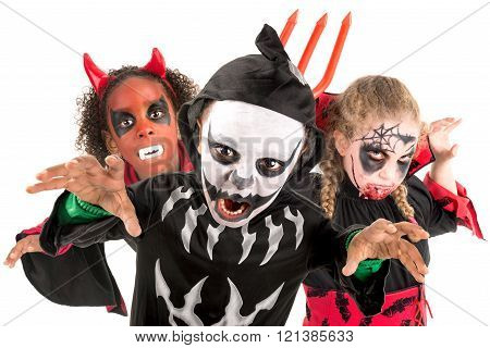 Kids In Halloween