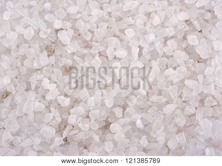 Cosmetic salt closeup