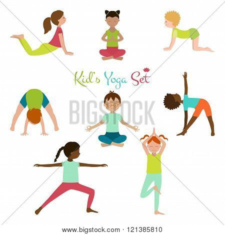 Kid Yoga Set