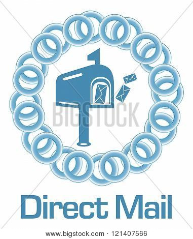 Direct Mail Blue Rings Circular
